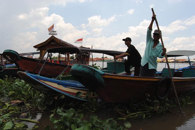 Perahu Ketek di BKB